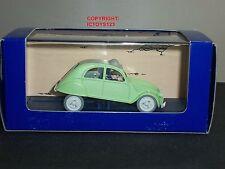 TINTIN NO.6 L'AFFAIRE TOURNESOL COMIC GREEN CITROEN 2CV DIECAST MODEL CAR