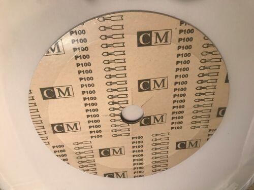 """10-park 17/"""" Sander Disc grit C100 For floor sanders polishers"""