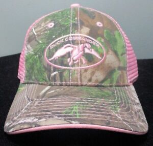 53fbdffab80d60 New DUCK COMMANDER Women's CAMO and PINK MESH HAT ~ Adjustable | eBay