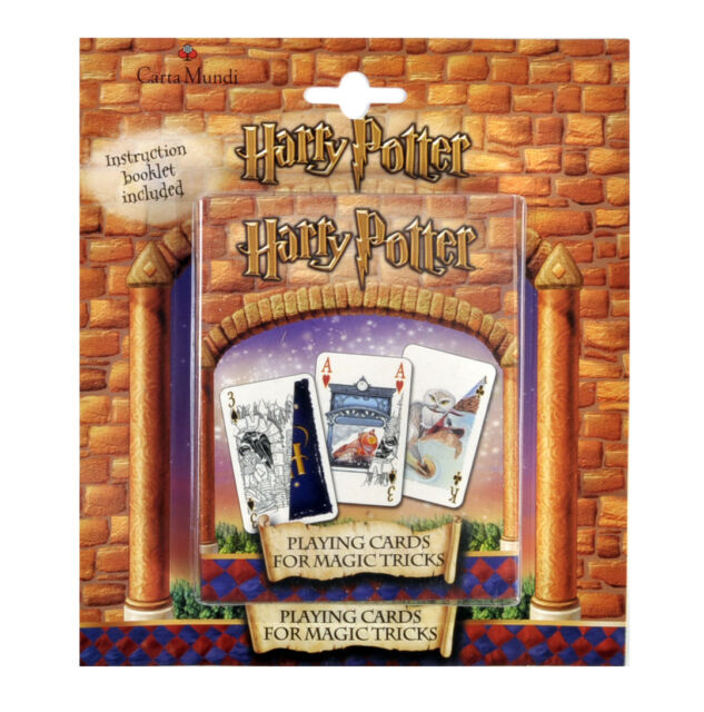 Harry Potter Magic Tricks Playing Cards