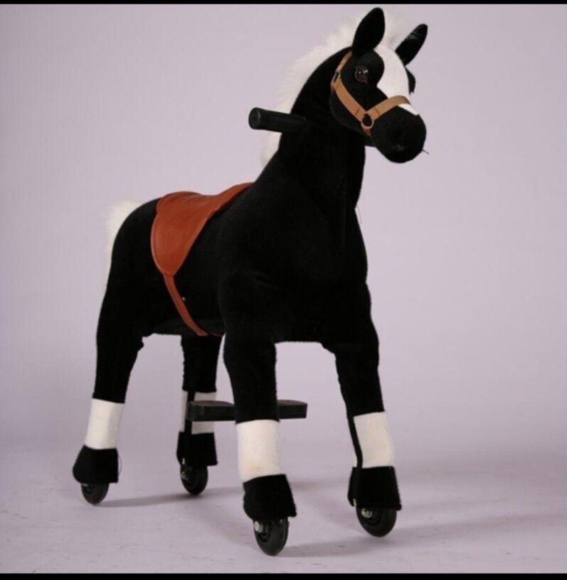 Wellini Reitpferd schwarz schwarz schwarz Gr. XL  Inline riding Animal mechanisches Reittier 6bfd94