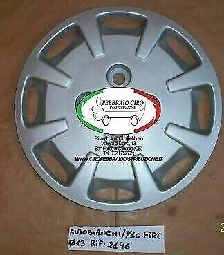 COPRICERCHIO COPPA RUOTA AUTOBIANCHI Y10 DAL 1992 DIAMETRO cerchio 13/'/'