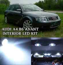 AUDI A4 B6 AVANT INTERIOR WHITE LIGHT FULL ERROR FREE UPGRADE LED LIGHTING SET