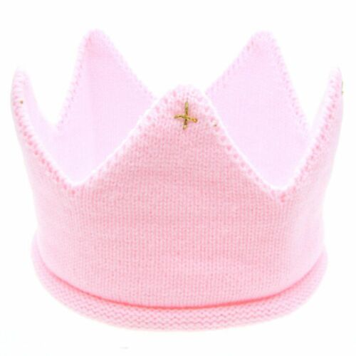 Knitted Hat Boys Girls Cap Crown Knit Cap Headband Baby Hats Hair Accessories