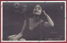 PINA MENICHELLI 23 ATTRICE ACTRESS CINEMA MUTO SILENT MOVIE - CASTROREALE 1924