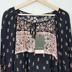 [ ELLIS & DEWEY Black Label ] Womens Print Dress NEW  | Size S or AU 10 / US 6