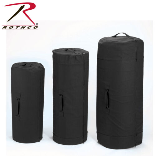 3488 3491 Canvas Duffle Bag w// Side Zipper Rothco 3478 3489 3479 3490