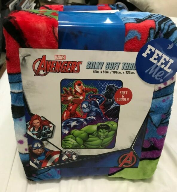 "New Marvel Venom Evil Profile Super Plush Silky Soft Throw Blanket 40/""x50/"""