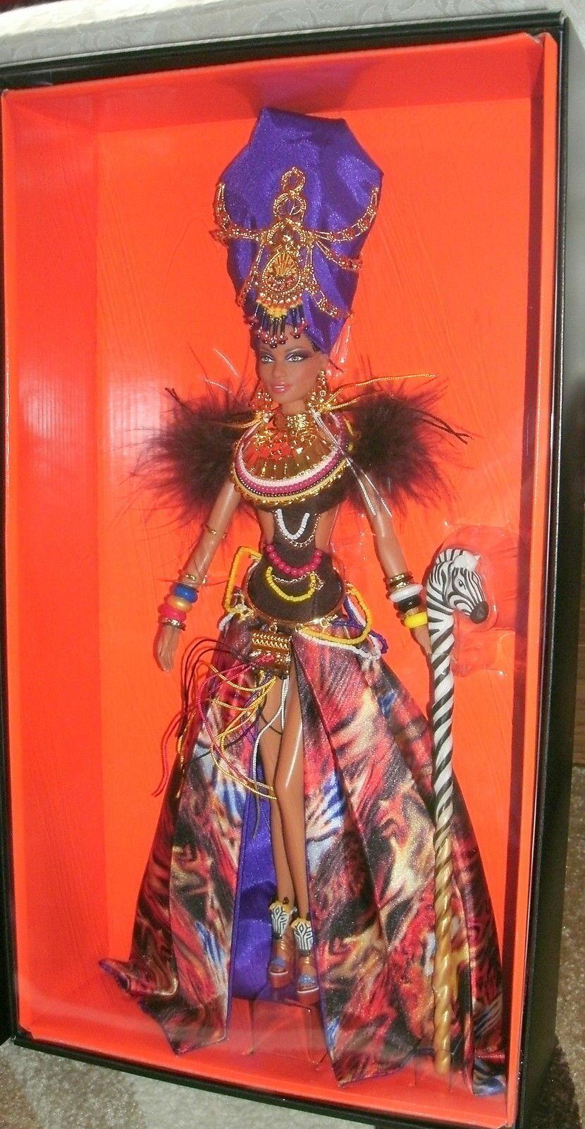 2013 Tribal De Belleza Barbie oro Label club exclusivo magnífico  nuevo nunca quitado de la caja original con envío