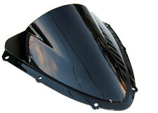 SMOKE BLACK  DOUBLE BUBBLE WINDSCREEN WINDSHIELD 4 Suzuki GSXR600 GSXR750 08-09