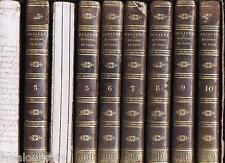 Histoire physique civile et morale de Paris Dulaure Guillaume 1823 9 tomes /10