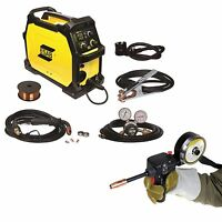 Esab Rebel Em 215ic Mig Welder With Spoolgun (0558102436) on sale