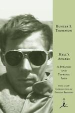 Modern Library: Hell's Angels : A Strange and Terrible Saga by Hunter S. Thompson (1999, Hardcover)