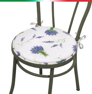 CUSCINO coprisedia ROTONDO lavanda lacci cucina salotto giardino ...