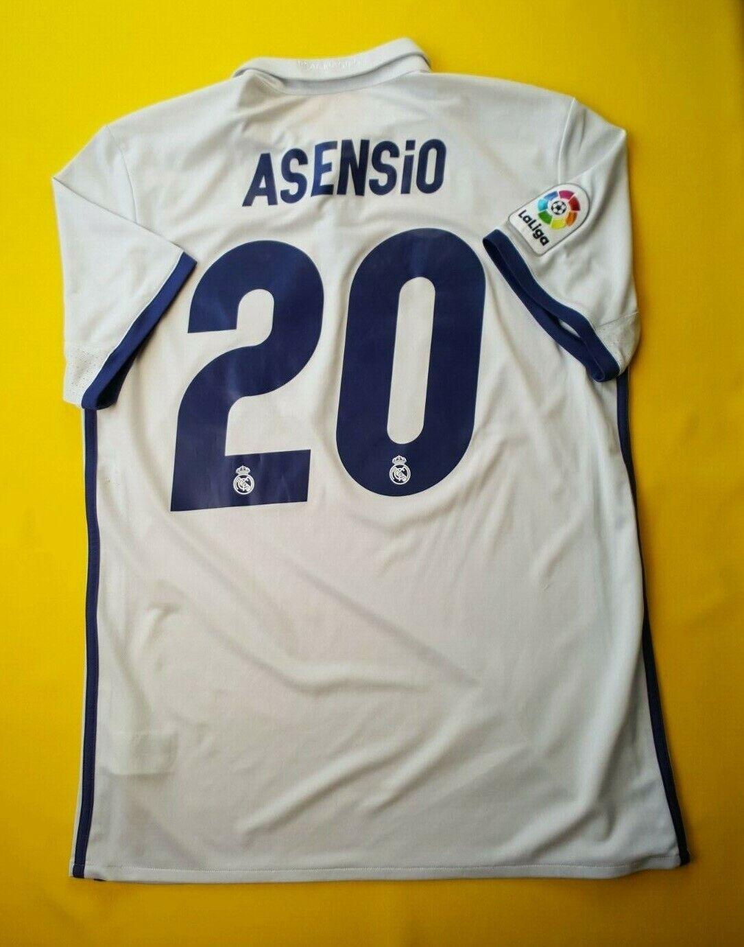 5+ 5 Asensio Real Madrid jersey medium 2017 shirt S94992soccer Adidas ig93