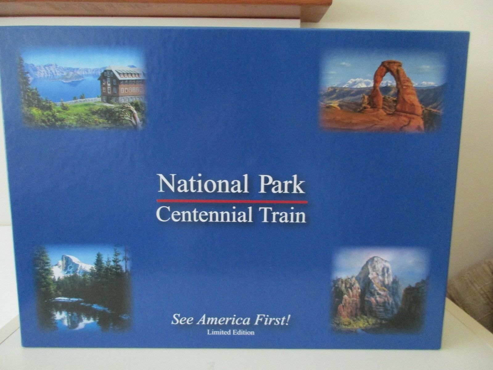 N-Scale N-Scale N-Scale Micro-Trains Lowell Smith National Parks Centennial Passenger 5-Car Set d93acc