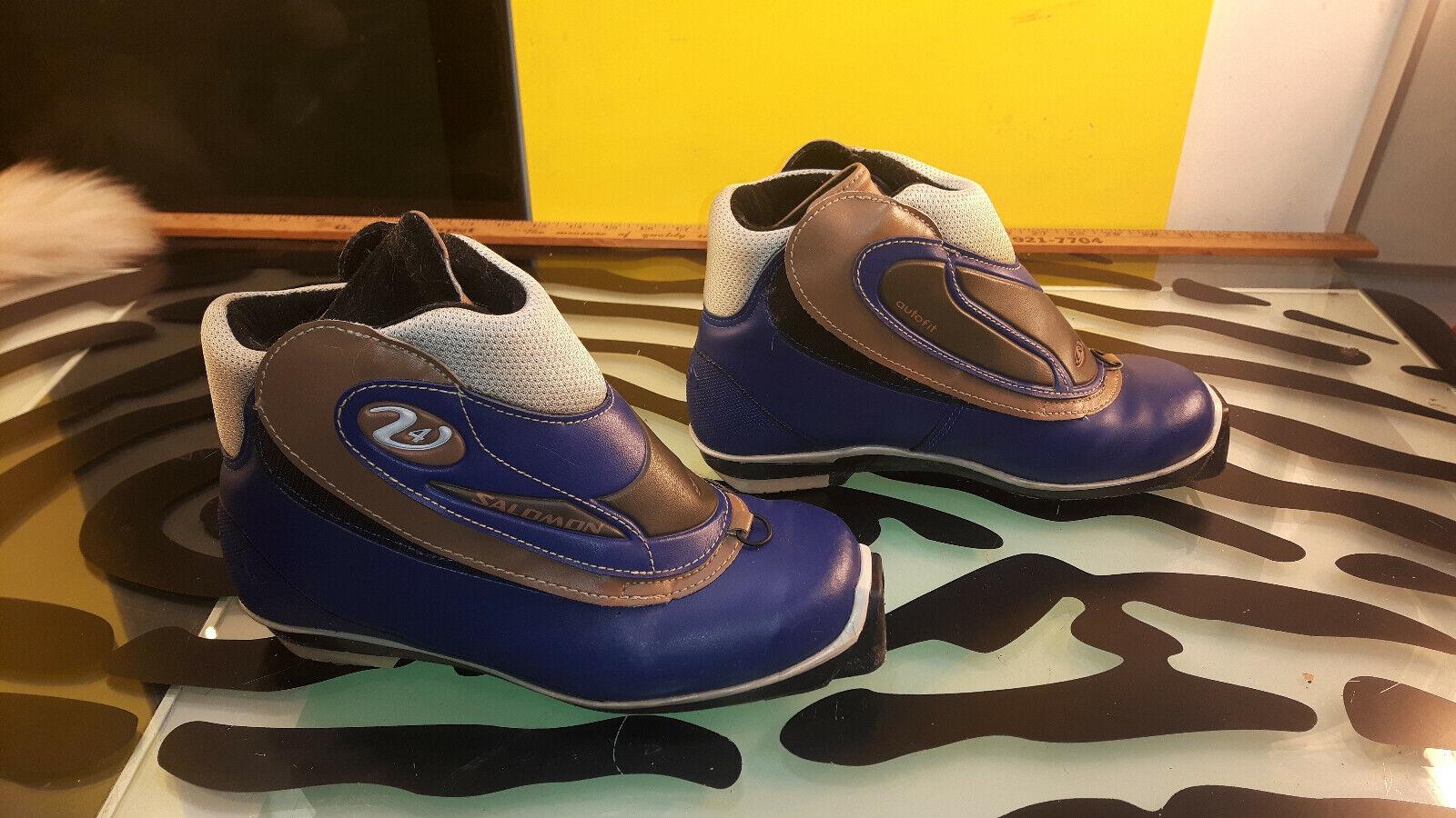 Salomon Autofit Womens Cross Country  Ski Boots Good Condition Size 6.5  discount sales