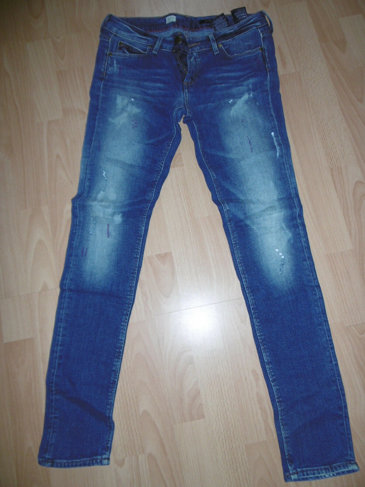 Super sexy Top Jeans Hose blau Tommy Hilfiger Milan 28 32 NEUw Slim Fit Denim