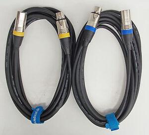 5m-Mikrofon-Kabel-XLR-DMX-Kabel-OFC-Kupfer-Set-mit-2-Stueck-je-5m-lang