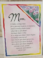 Blue Mountain Card Mom, It Takes A Long Time To Grow, To Mature