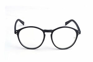 Spectacle and Eyewear Frame in Round Style in Black Shade EyeGlasses Frames