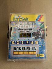 Ultra Rare Jeu Game LORICIELS Chiffres Et Lettres AMSTRAD CPC K7 Cassette 1987