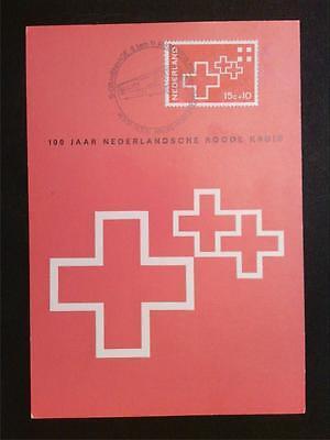 Niederlande & Kolonien Niederlande Mk 1967 Rotes Kreuz Red Cross Maximumkarte Maximum Card Mc Cm C7719 Ein BrüLlender Handel