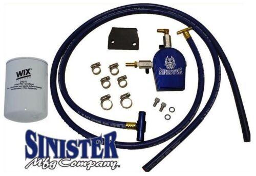 07.5-10 Ford Powerstroke 6.4L Sinister Coolant Filtration System SMC-COOLFIL-6.4