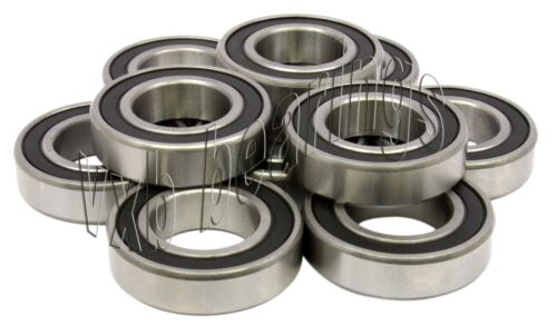 """10 Stainless Steel Bearing SR6-2RS Sealed 3//8/""""x7//8/""""x9//32/"""" inch Miniature 696"""