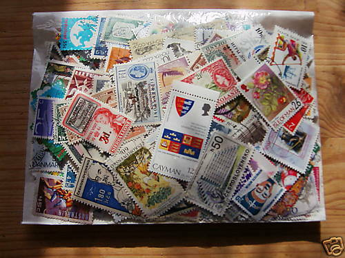 4000 DIFFERENT WORLD STAMPS,EXCELLENT LOT.