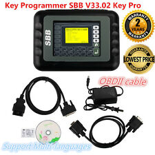 New SBB V33.02 Key Maker Programmer Immobilizer  Auto Remote Multi language Set