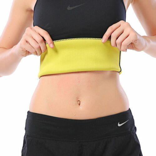 Details about  /FAJAS Womens Waist Trainer Trimmer Sauna Sweat Sport Belt Slimming Body Shapers