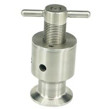 1.5 inch Three Clamps 0.5 5 Bar Adjustable Overflow Safety Valve Guard Z9N1