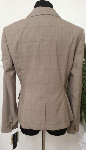Ret 8 Blazer in a Wmns beige righe Blazer New Jones Sz poliestere Blazer 179 704626223477 York Nwt misto wgZ76zqnz