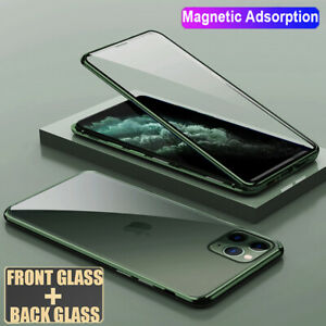 360-Magnetic-Adsorption-Case-for-iPhone-11-Pro-Max-Double-Side-Glass-Film-Case