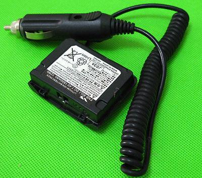 12V Car Power Adaptor FNB-80LI For Yaesu Two Way Radio VX-5R VX-6R VX-7R VX-6E