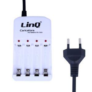 LinQ Ladegerät für Akku AA AAA Battery Charger CD06 Batterieladege<wbr/>rät