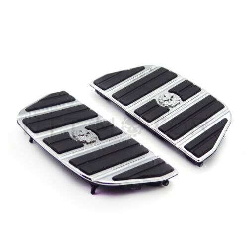 Gear Skull Passenger Footboard Traditional Shape For 87-15 TOURING//86-15 SOFTAIL