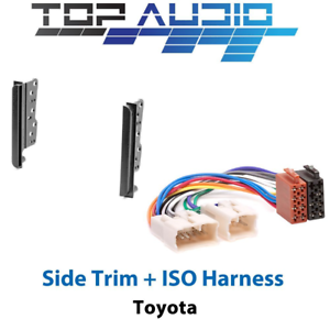 fit-Toyota-Car-Stereo-Double-Din-Dash-Facia-Fascia-Kit-ISO-Wiring-Harness