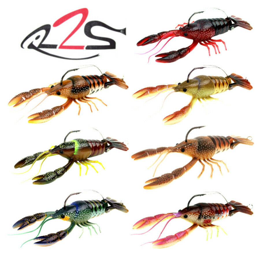 River2Sea Larry Dahlberg Clackin Crayfish 130 3.75 Inches Select Colors