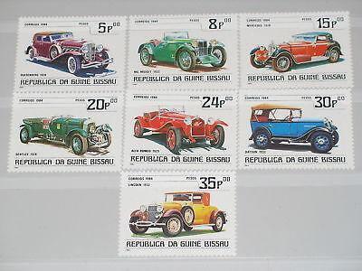 Autos Vornehm Guinea Bissau 1984 746-52 Block 258 545-52 Oldtimer Vintage Cars Autos Mnh Motive