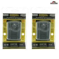 2 Air Compressor Pressure Switch Control Universal Square D 125psi New