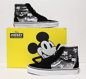 Vans X Disney SK8 Hi Plane Crazy Mickey