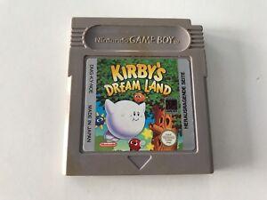 Nintendo-Gameboy-Game-Boy-Spiel-Kirbys-Dream-Land-Guter-Zustand-202