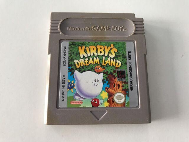 Nintendo Gameboy Game Boy Spiel Kirbys Dream Land // Guter Zustand  //  #202