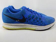 Nike Men's Zoom Pegasus 31 Running Blue Volt 654924 400 Size
