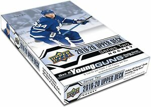 2019-20-Upper-Deck-Series-2-Hockey-Hobby-Box-New-Sealed-24-Packs-Per-Box-NHL-UD