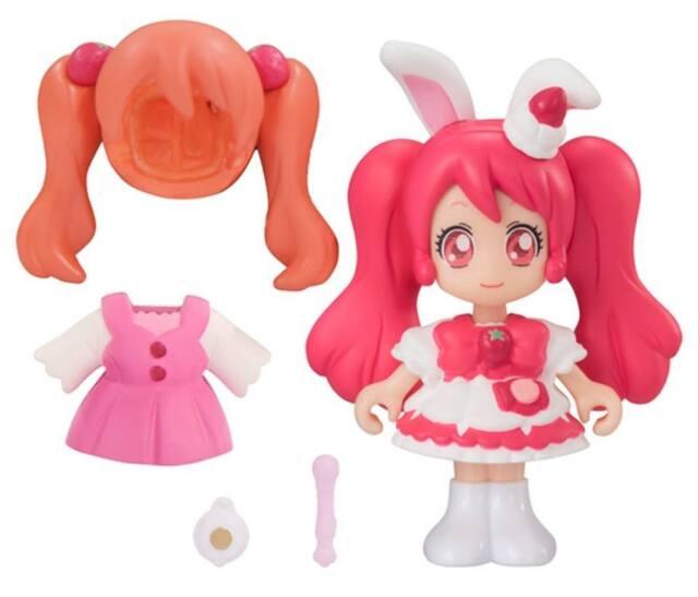 Bandai Kira Kira Precure A La Mode Pre-corde Doll Cure Whip Cure! Toy Pretty