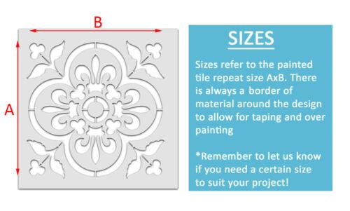 Bustier Kachel Schablone Heim Dekor Muster Farbe Wände Bodentypen