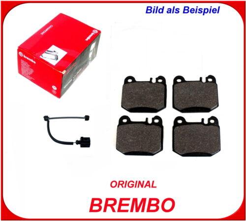 2 Wako Mercedes-Benz M Klasse W163 ab 2001 BREMBO Bremsbeläge Hinterachse